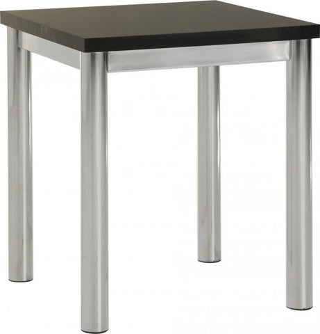 Picture of Charisma -Lamp Table in Black Gloss/Chrome