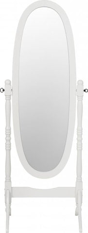Picture of Contessa Cheval Mirror in White