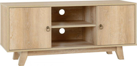 Picture of Finley TV Unit in Medium Oak Effect Veneer