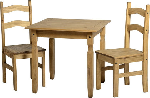 Picture of Rio Dining Set in Distressed Waxed Pine