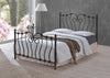 Inova - Ornate Bed - Black or Ivory.