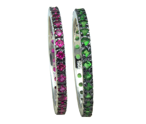 Eternity Band - Red/Green