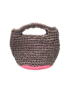 Crochet.me bag, grey.