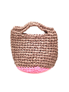 Crochet.me bag light choco