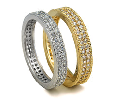 Eternity Band - Double Rows