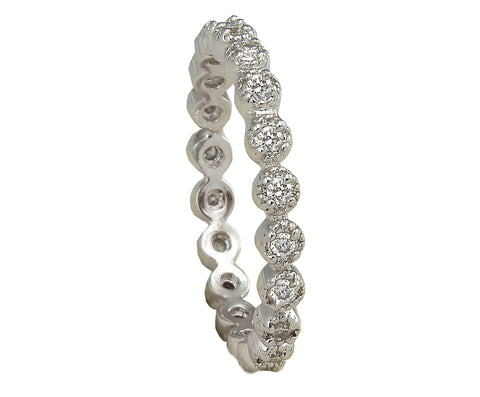 Eternity Band Round - Silver