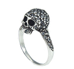 Skull Chic Ring - Black
