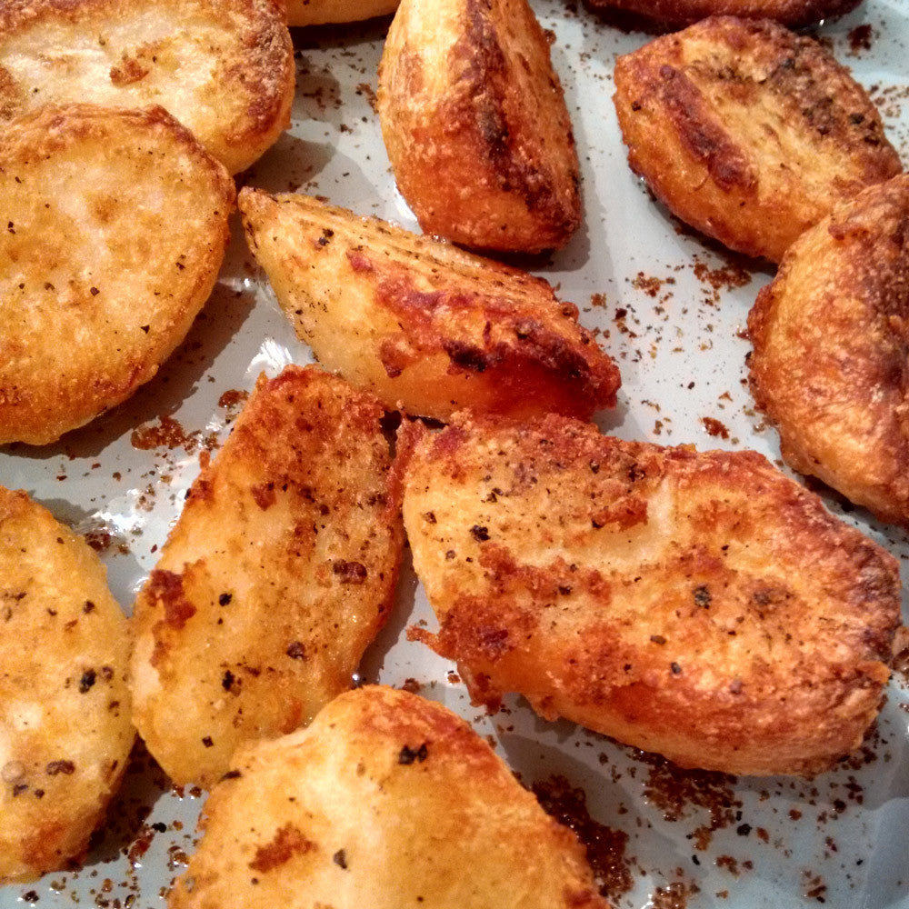 The Best Way to make Roast Potatoes in your Range Cooker!