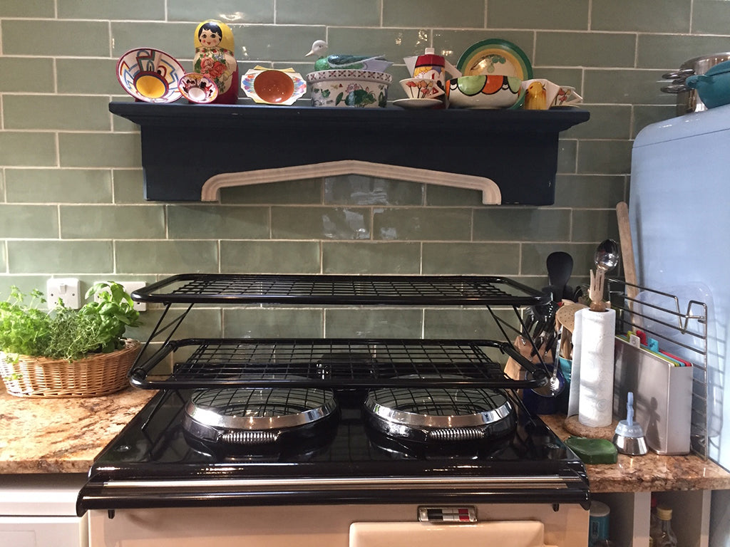 """The Perfect Fit"" - for the family Aga range cooker and the household !"