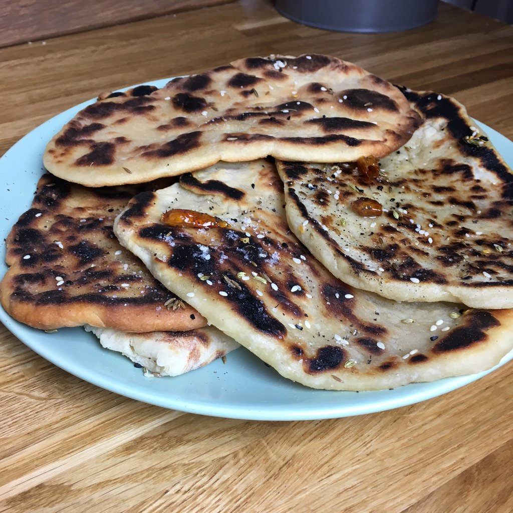 Katy's Naan Recipe (First Attempt!)