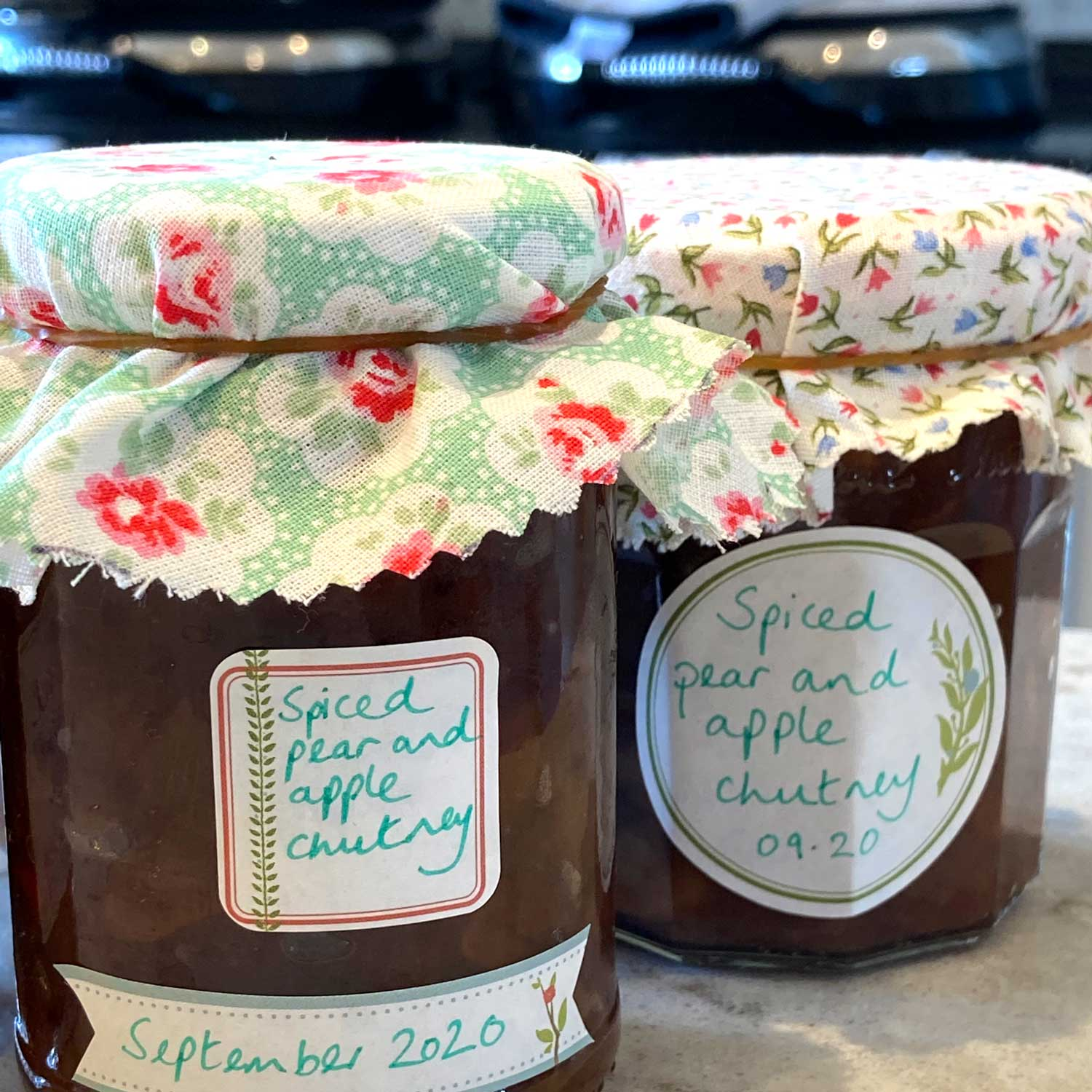 Spiced Pear & Apple Chutney