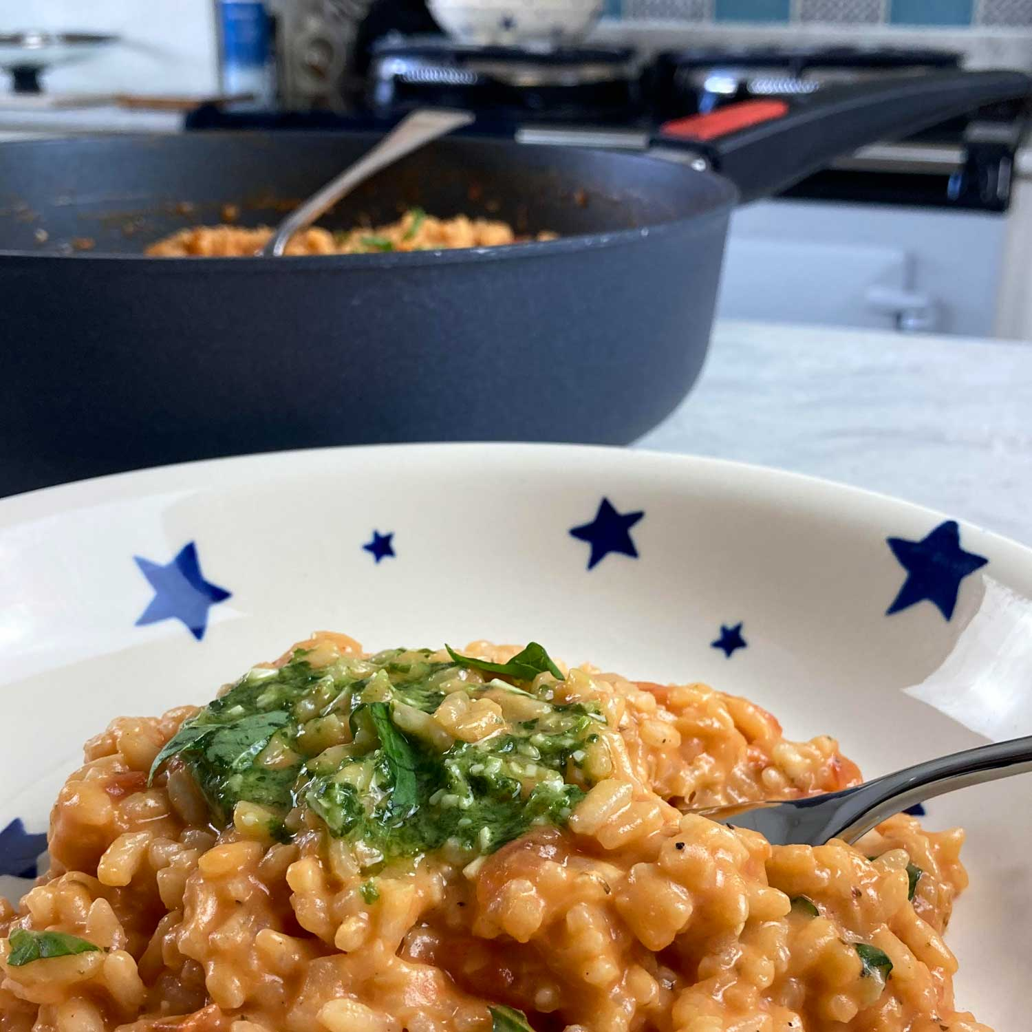 Tomato and Mascarpone Risotto