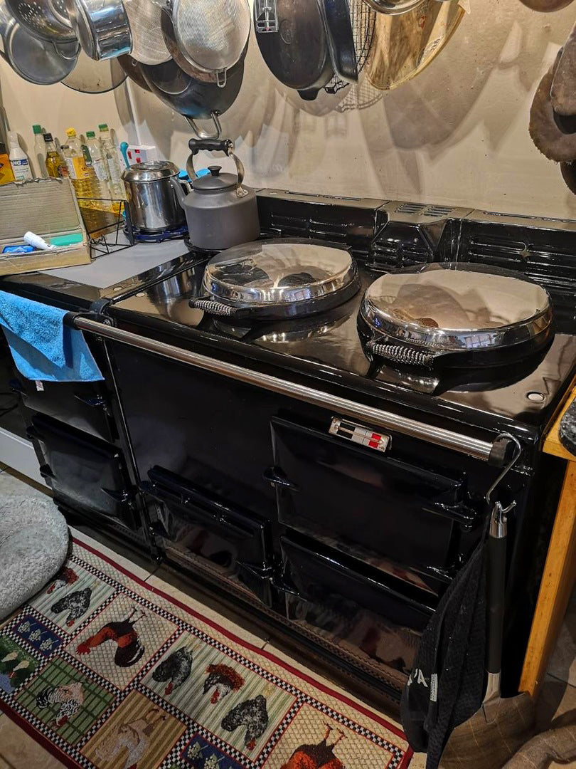 """Everything That You Need"" - To Clean An Aga Range Cooker"