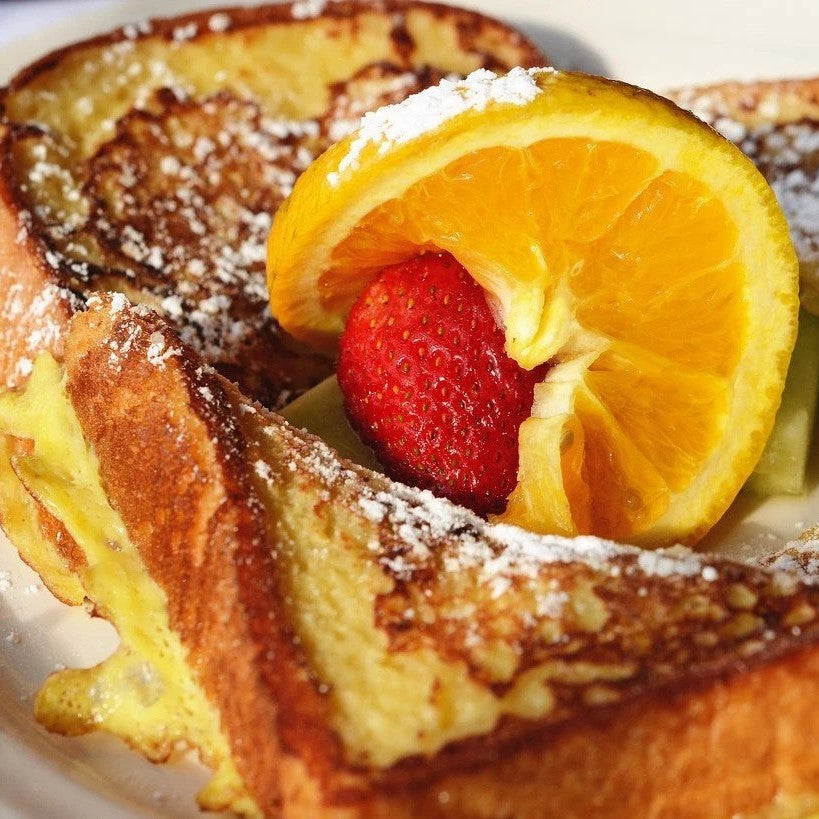 French Toast with Cinnamon Salt