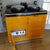 An Electrikit Reconditioned Aga Range Cooker In Golden Yellow