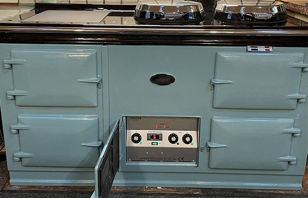 Aga Range Cooker Re-Enamelled and Converted in The Highlands!