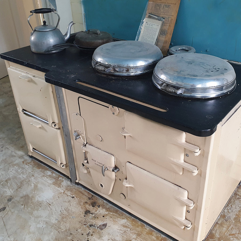 Documenting the rescue of a 1936 Aga range cooker by Blake & Bull