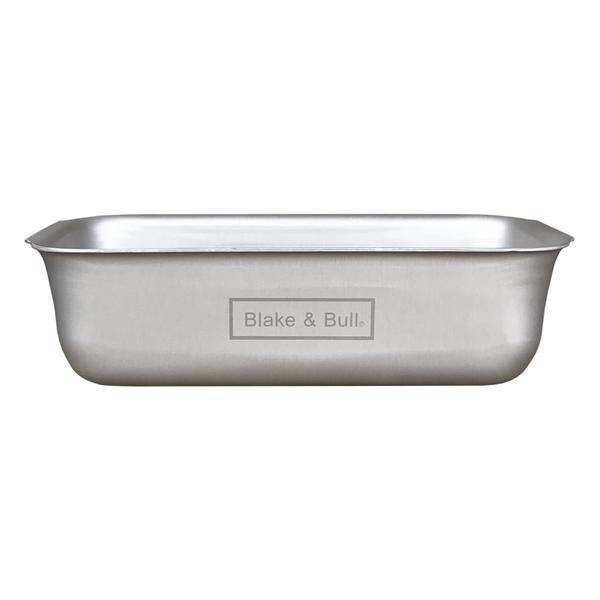 2lb aluminium loaf tin suitable for use in an Aga range cooker