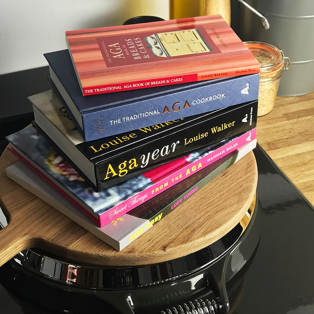 Cookbooks with recipes suitable for use with Aga range cookers