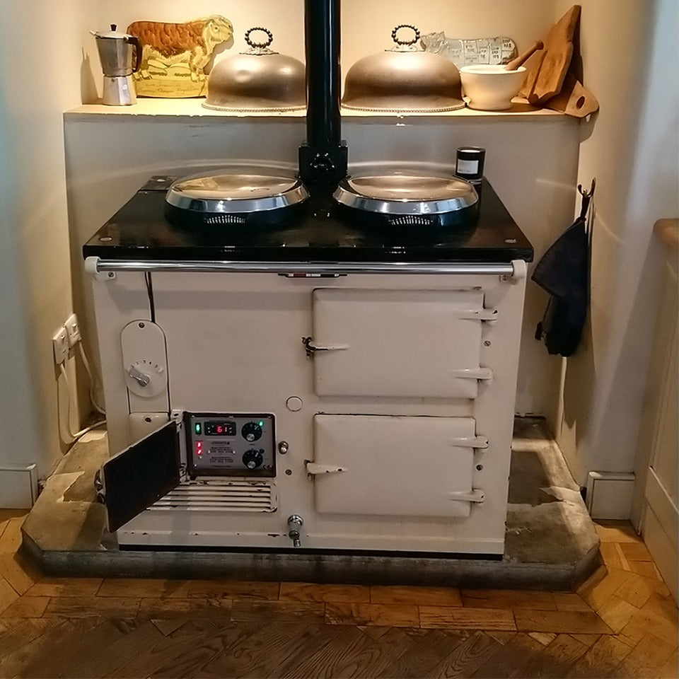 a 1940's forties aga range cooker converted to electric