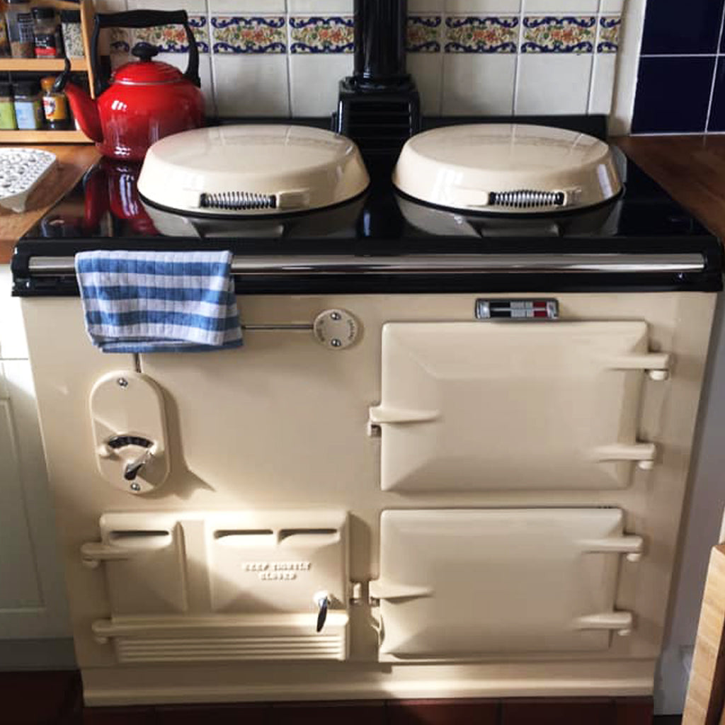cleaning kits suitable for use on vitreous enamel on Aga range cookers - Blake and Bull re-enamelling Reconditioned aga range cookers electric conversions of Aga range cookers shot blasting of Aga range cookers how to refurbish vitreous enamel