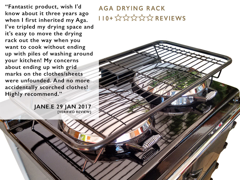 110+ reviews of our Aga drying rack