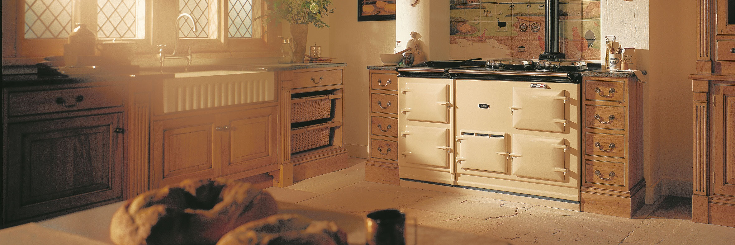 Aga hob covers, re-enamelling and spares.