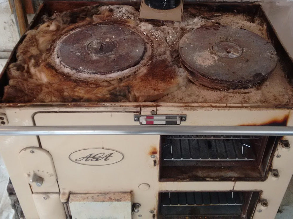 Aga with insulation problems