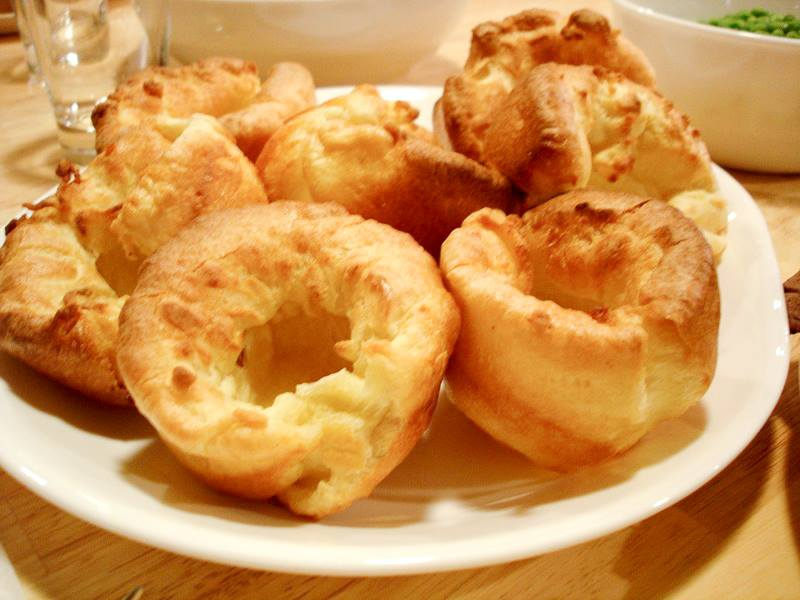 Yorkshire puddings made in an Aga range cooker