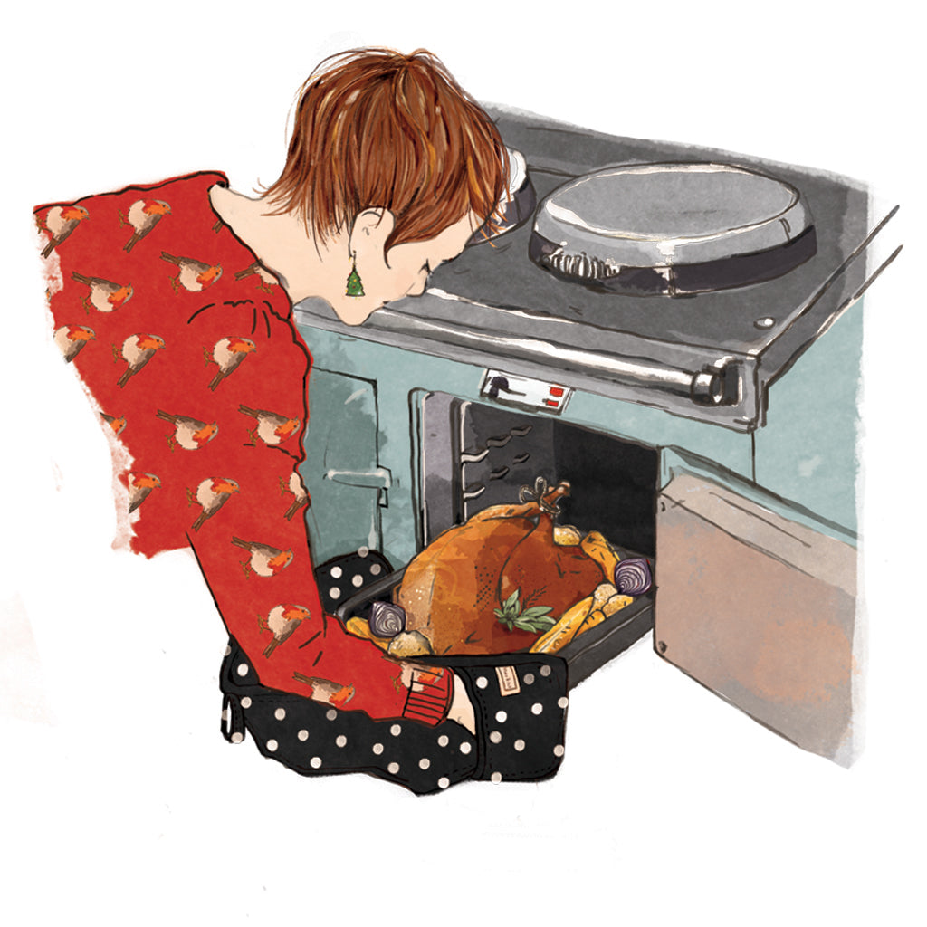 Large roasting trays that fit on the runners of aga range cookers how to cook a turkey in an Aga range cooker