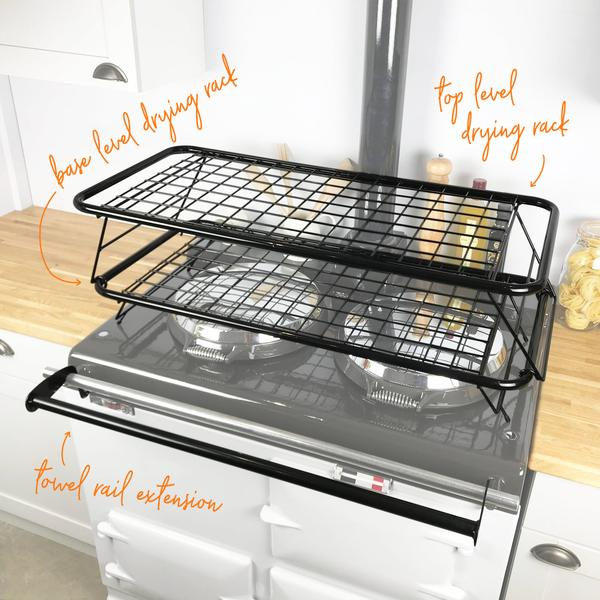 Drying racks suitable for drying laundry on an Aga or rayburn range cooker