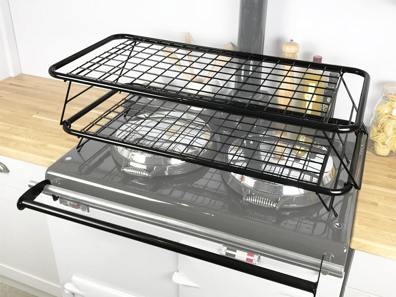 Drying rack set for use with Aga range cookers