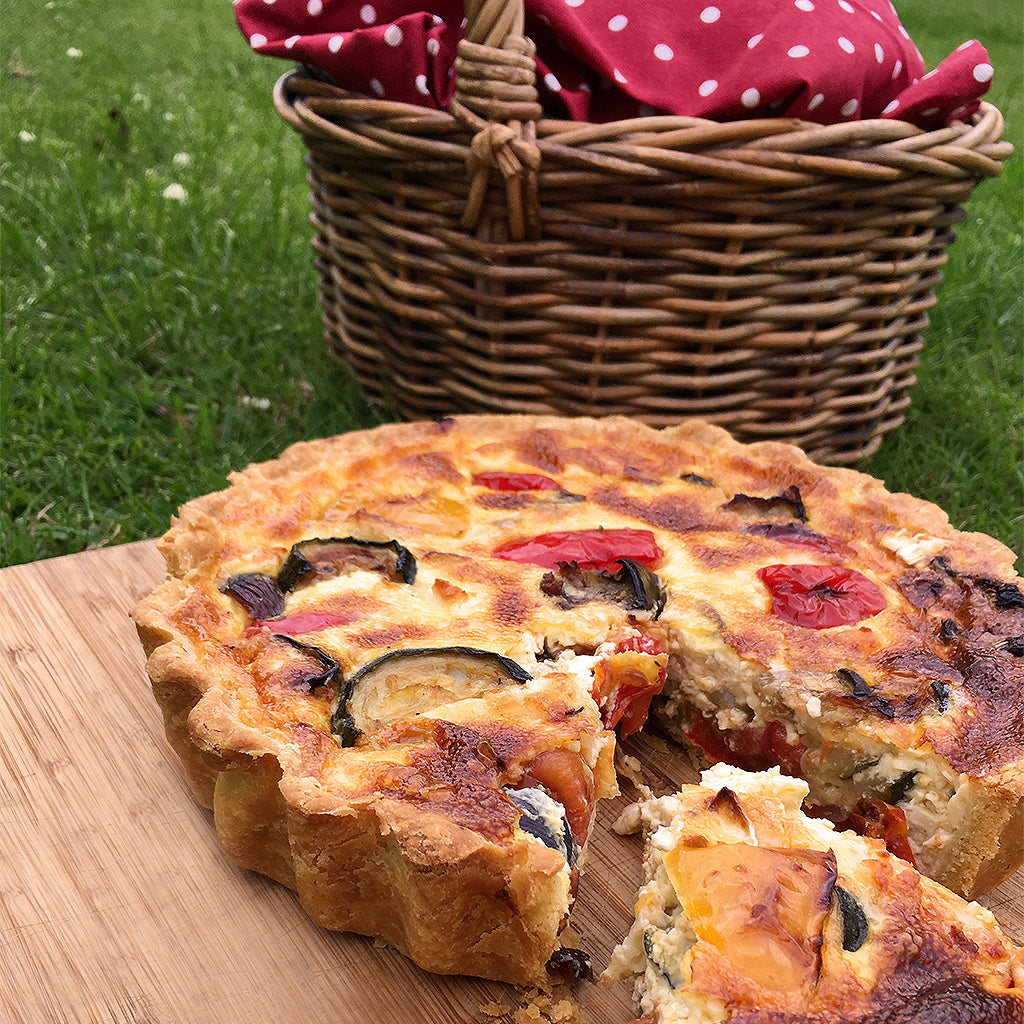 How to cook a quiche tart a recipe suitable for use in an Aga range cooker