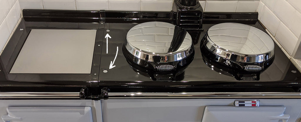 How to replace the Hob Caps Screws on an Aga range cooker HOB