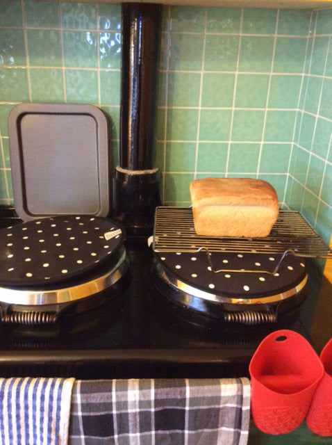 Loaf of bread from the Aga