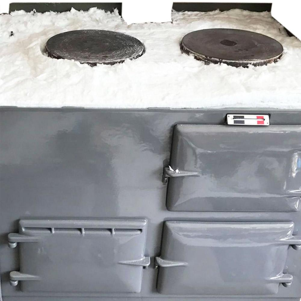 Insulation upgrade kit for use with Aga range cookers