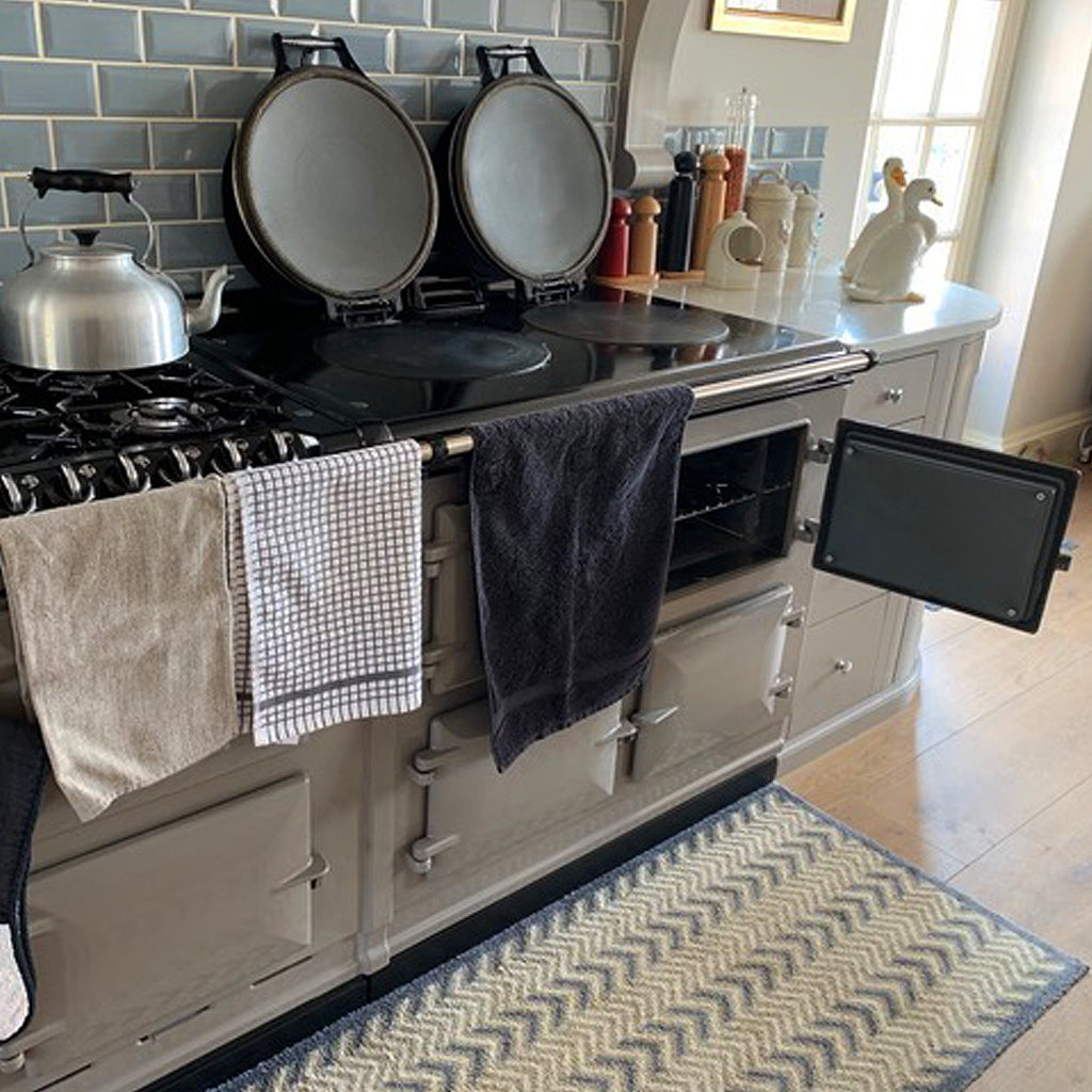 Blake and Bull non stick door liners and lid liner replacement kits suitable for use with and on Aga range cookers