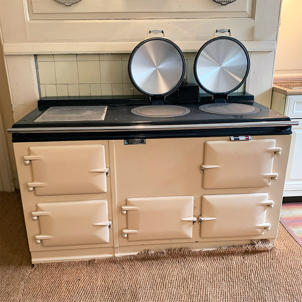 A pre 74 aga range cooker 4 oven in cream converted to electric - can you convert an old Aga range cooker