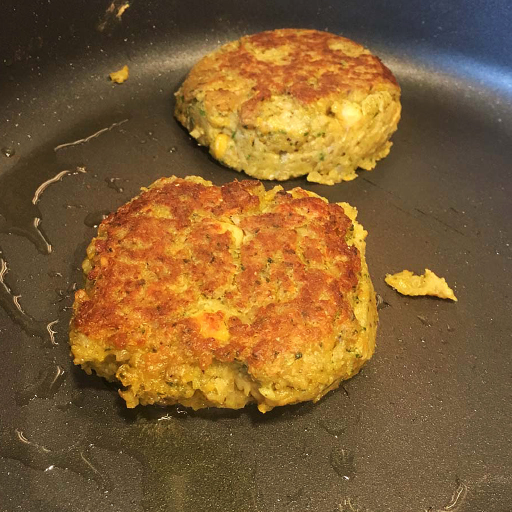 The Ultimate Veggie Burger Recipe suitable for Woll pans and Aga range cookers