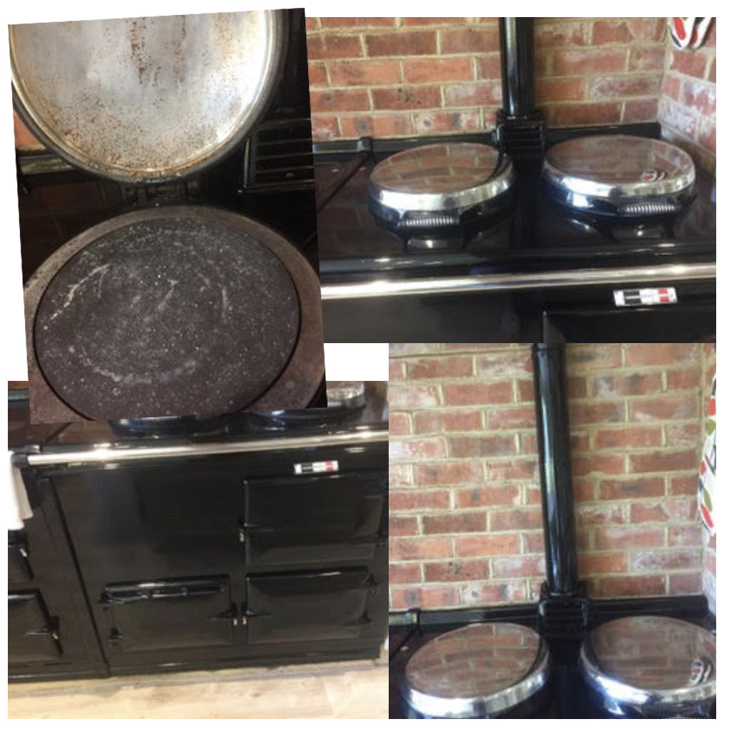 how to change the enamel colour on an Aga range cooker