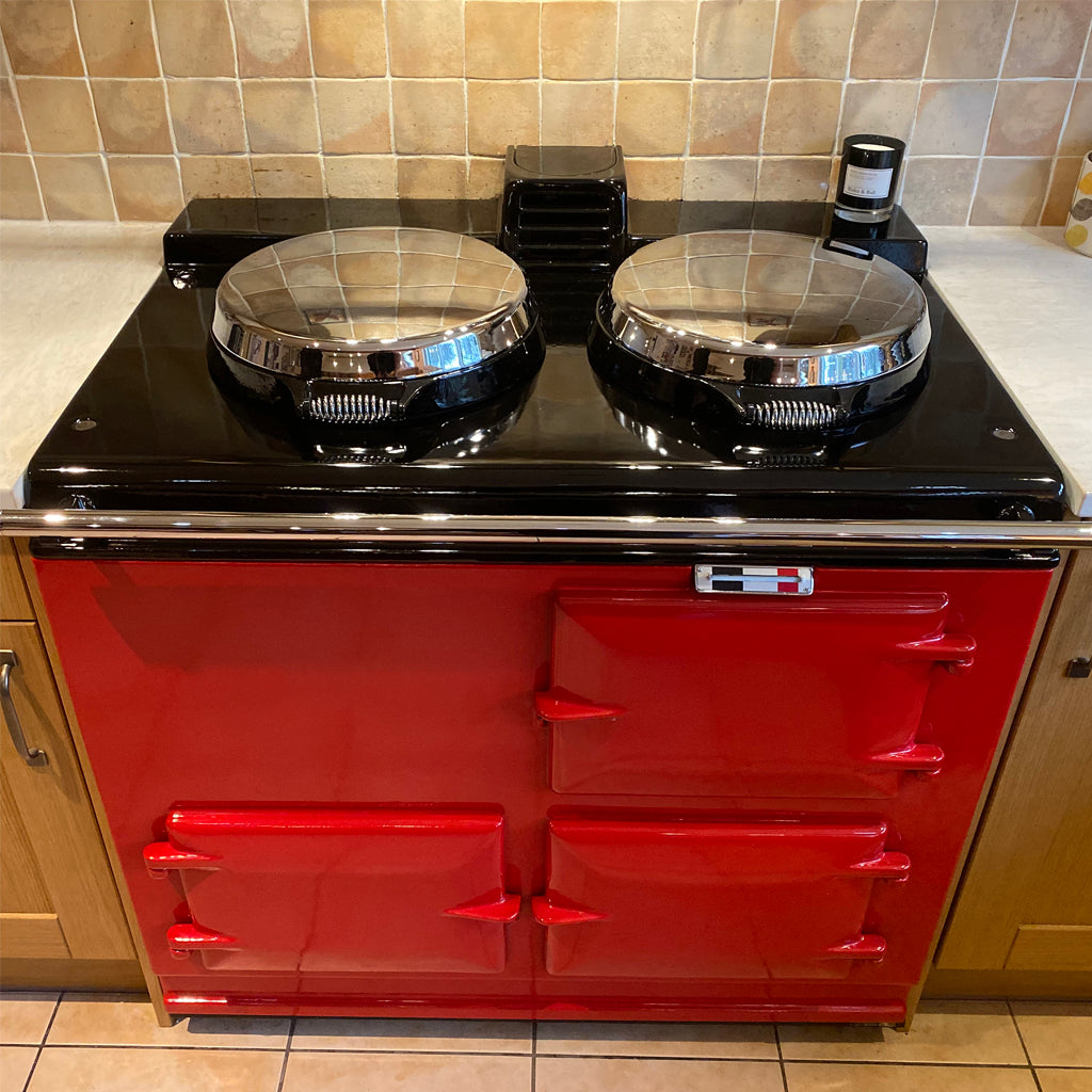 clean aga range cooker