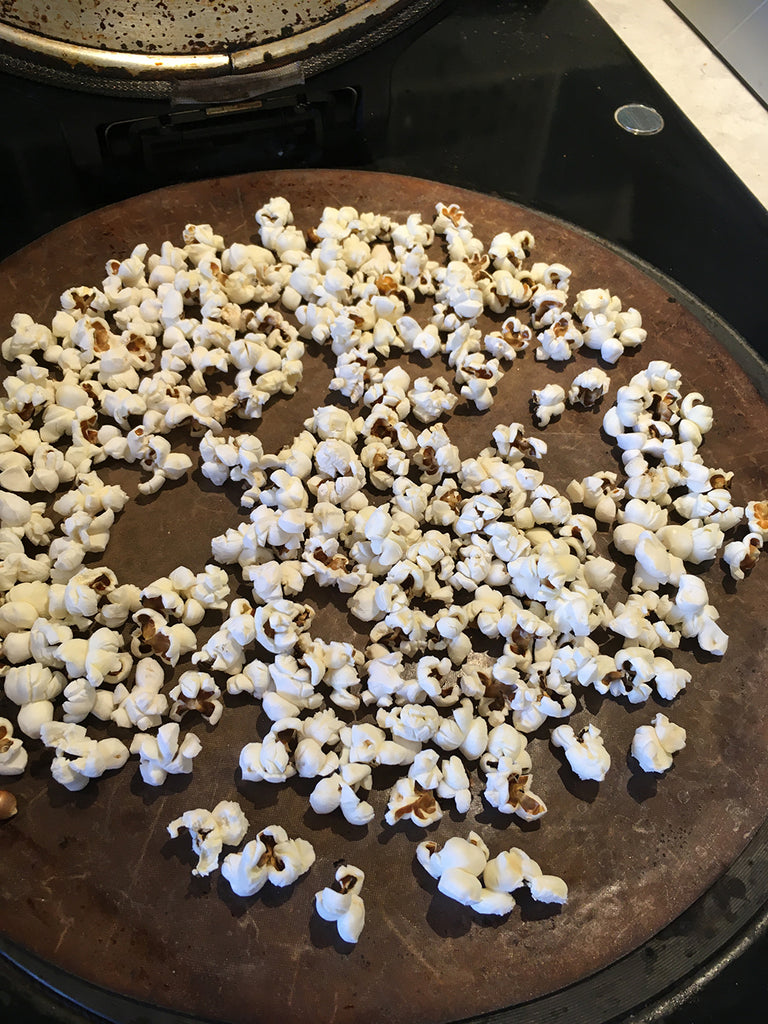 How to make popcorn on an Aga range cooker recipe for rocky road