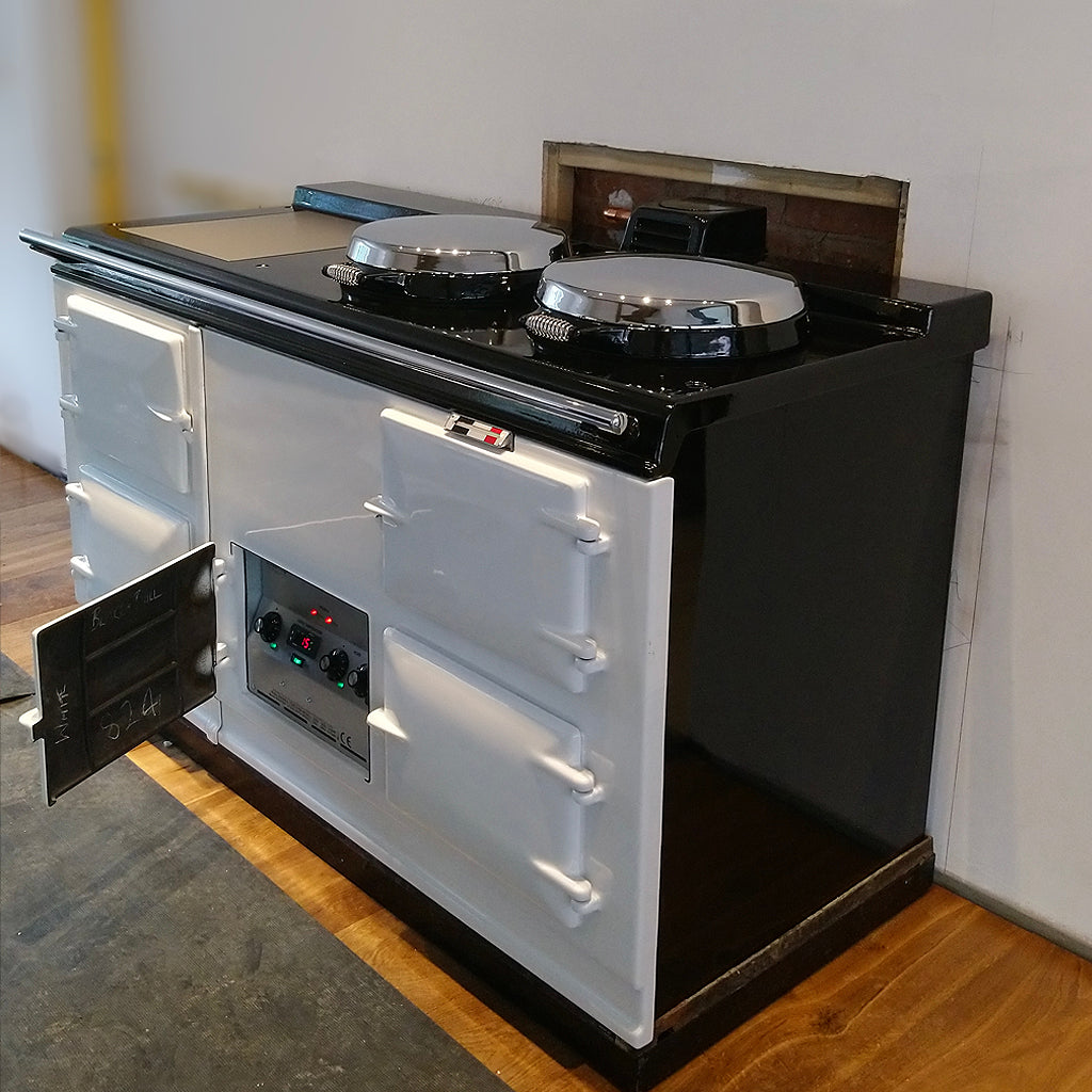 converted electric aga range cooker