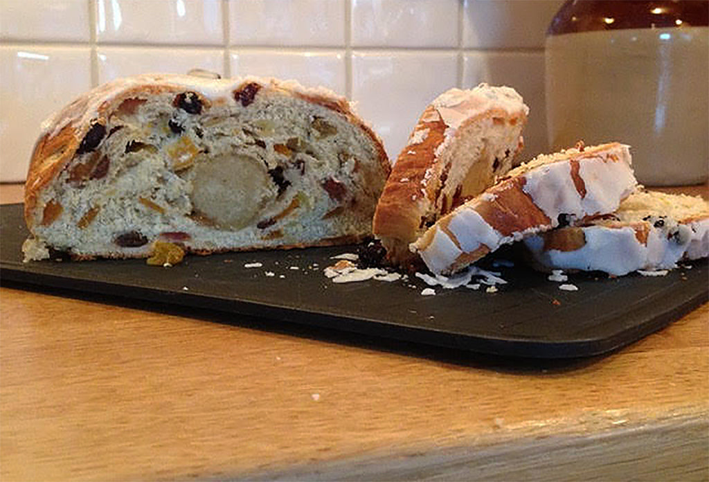How to cook stollen in an Aga range cooker