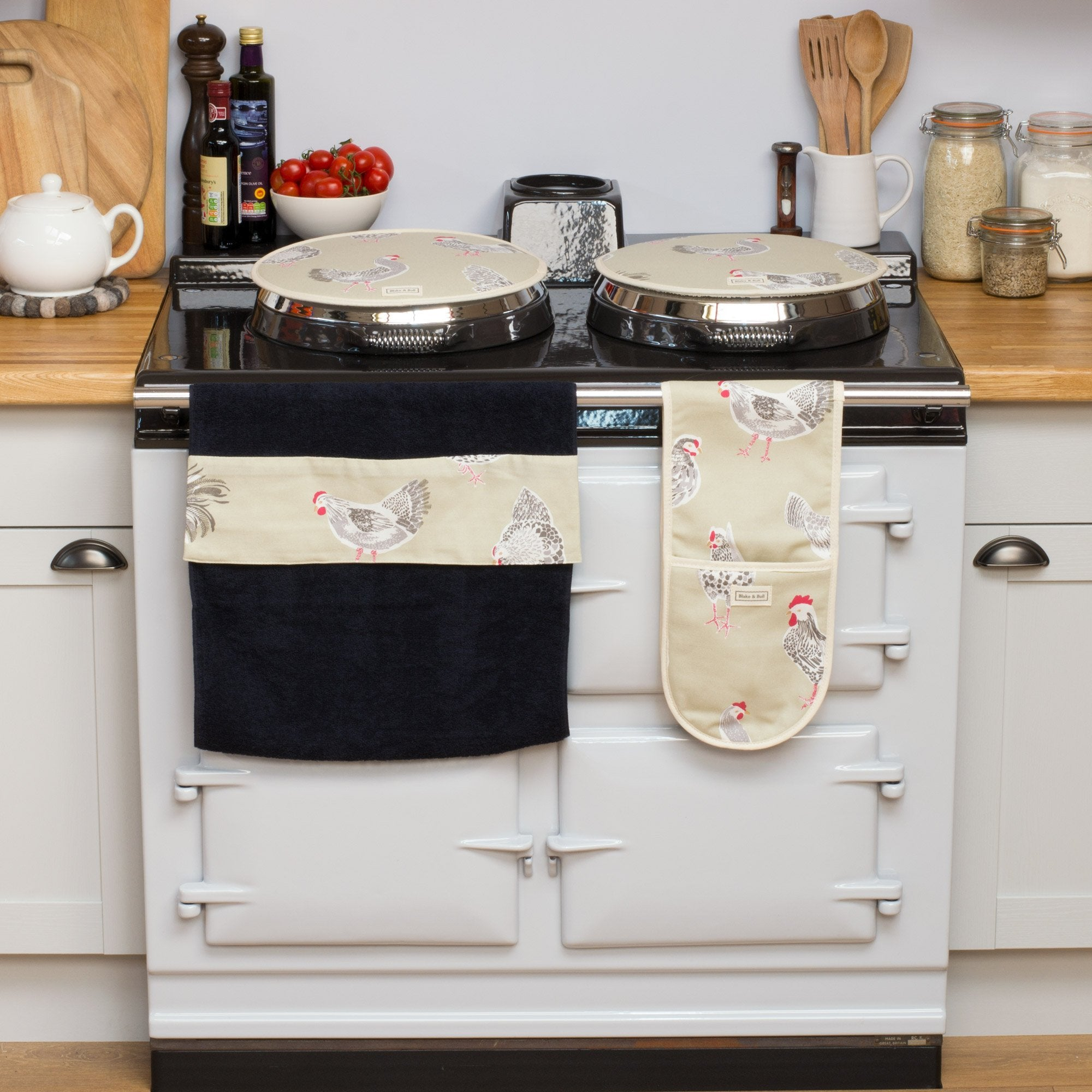 Blake & Bull original products for range cookers