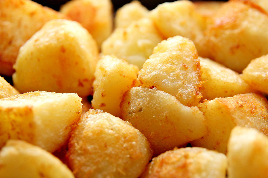 How to cook roast potatoes in an Aga range cooker