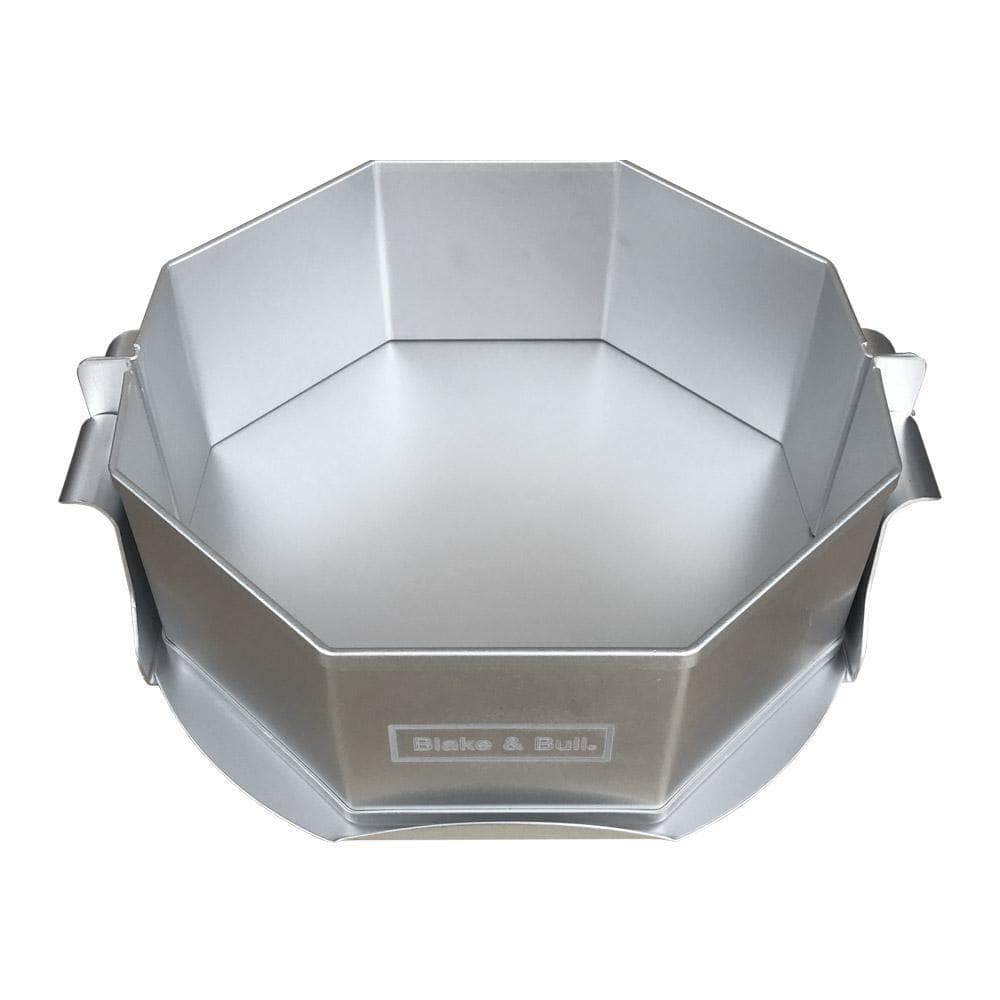 8inch (20.3m) octagonal pie or cake mould