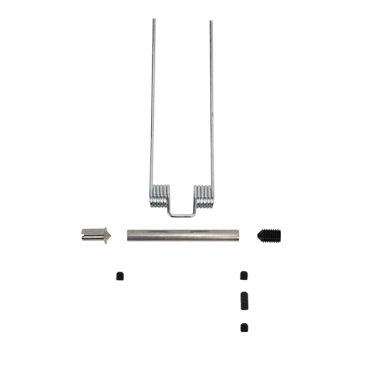 Lid hinge pin kits for use with post 1995 Aga range cookers 8mm lid hinge pin kit for a single lid
