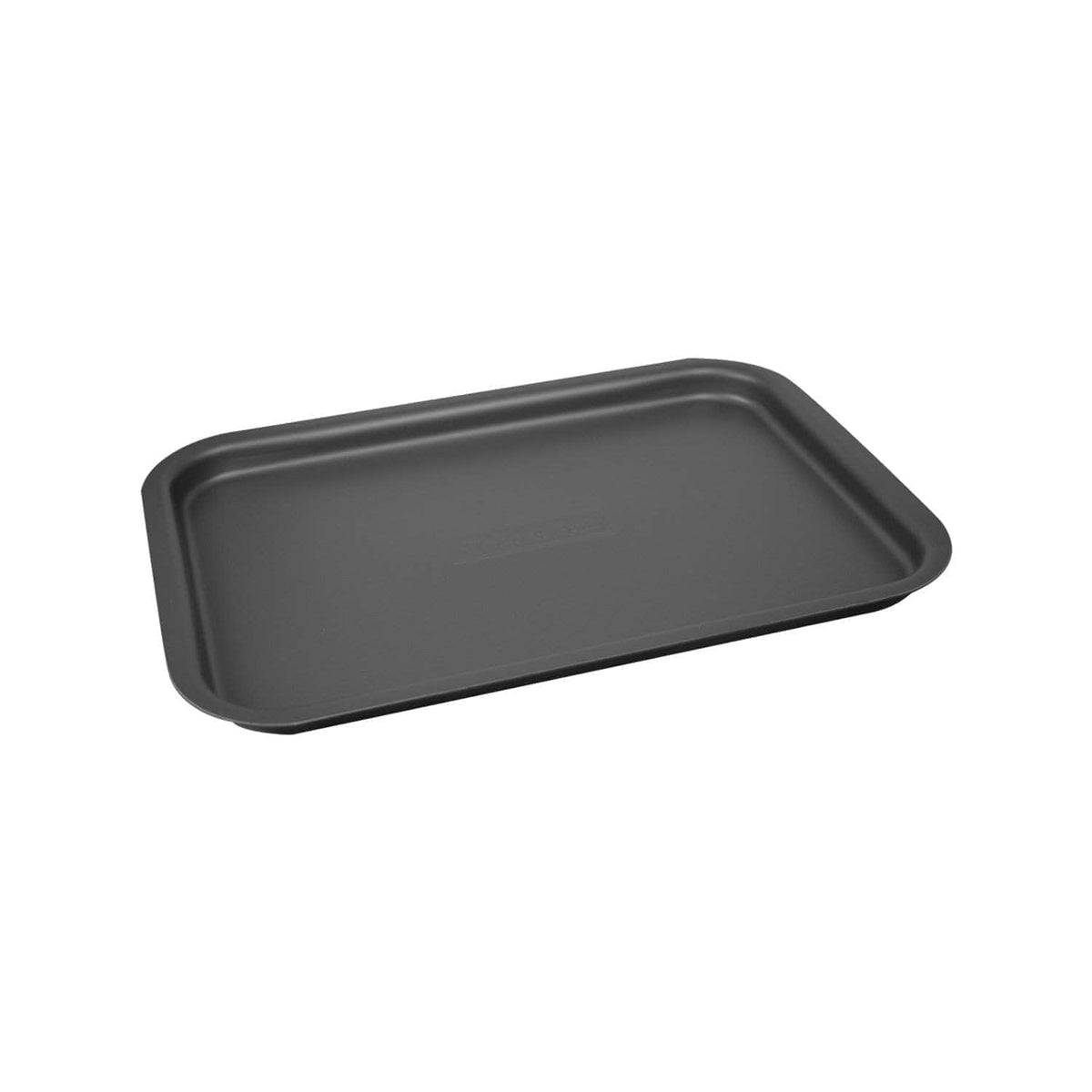 'Fits on runners' baking tray for use with Aga range cookers 'half oven' size I only need an individual tray thank you! / Black