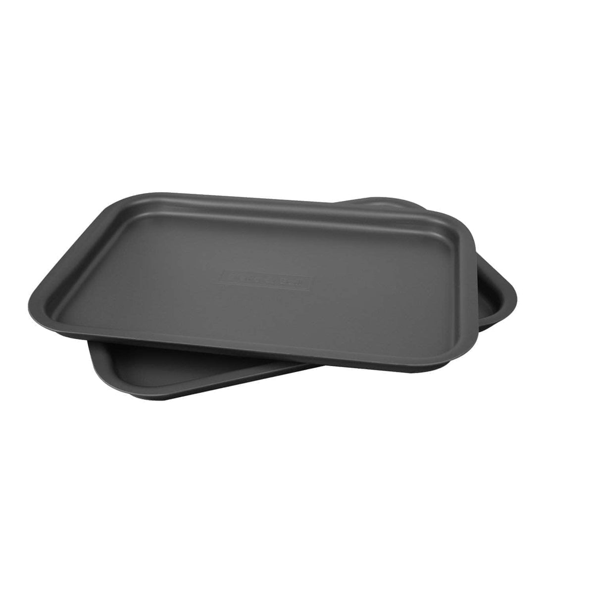 'Fits on runners' baking tray for use with Aga range cookers 'half oven' size Yes I'd like to upgrade to a set of 2 (saves £5 on individual cost) / Black